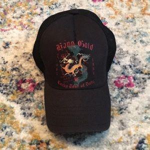 """Lucky Brand """"Hanoi Gold"""" Trucker Hat"""